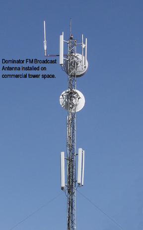 HIGHEST GAIN FM TX ANTENNA WITH MONEY BACK GUARANTEE!